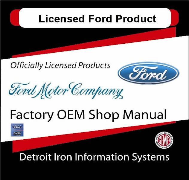 Ford Factory Manuals - CD's