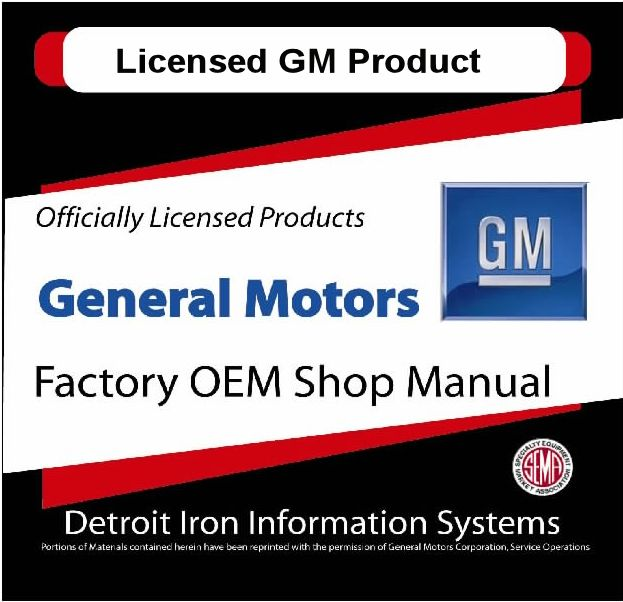 GM Factory Manuals - CD's