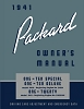 1941 Packard Owners Service Manual 110 & 120