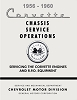 1956-1960 Corvette Chassis Service Operations