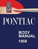 1958 Pontiac Body Shop Manual