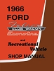 1966 Ford Econoline Shop Manual