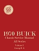 1970 Buick Chassis Service Manual - 2 Vol Set