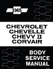 1965 Chevrolet, Chevelle, Chevy II Corvair Body Service Manual