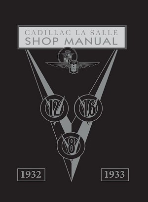 1932 - 1933 Cadillac LaSalle Shop Manual