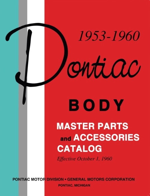 Peachy 1953 1960 Pontiac Master Parts Catalog 2 Vol Set Detroit Iron Wiring 101 Cranwise Assnl