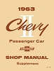 1963 Chevy II Shop Manual Supplement