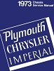 1973 Plymouth and Chrysler Chassis Service Manual