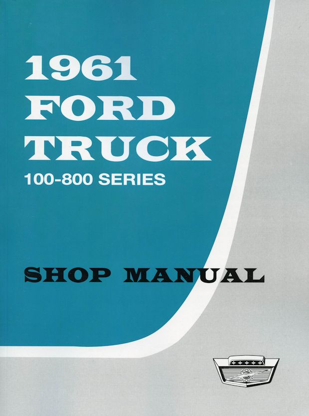 Ford Factory Manuals - Paper