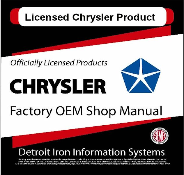 Mopar Factory Manuals - CDs