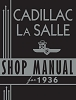 1936 Cadillac LaSalle Shop Manual