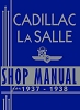 1937 - 1938 Cadillac LaSalle Shop Manual