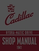 1941 Cadillac Hydra-Matic Drive Shop Manual