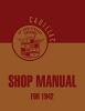 1942 Cadillac Shop Manual