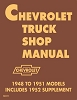 1948-1953 Chevy Truck Shop Manual
