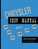 1949 - 1950 Chrysler Shop Manual