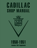 1950-1951 Cadillac Shop Manual