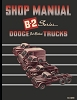1950 Dodge Truck B-2 Series Shop Manual