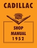 1952 Cadillac Shop Manual