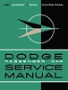 1957 Dodge Car Service Manual