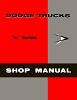 1958 Dodge Truck L Series Shop Manual