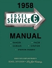 1958 Edsel Service Manual