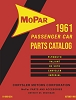 1961 Mopar Car Body & Chassis Parts Catalog