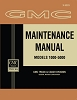 1962 GMC Maintenance Manual