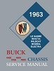 1963 Buick Chassis Service Manual For 4400, 4600, 4700, 4800