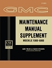 1963 GMC Maintenance Manual Supplement
