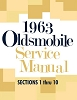 1963 Oldsmobile Service Manual - 2 Vol Set