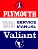 1963 Plymouth Shop Manual