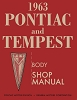 1963 Pontiac and Tempest Body Shop Manual