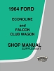 1964 Ford Econoline Shop Manual Supplement