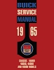 1965 Buick Chassis Service Manual For 45000, 46000, 48000, 49000