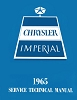 1965 Chrysler & Imperial Car Shop Manual