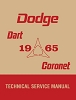 1965 Dodge Dart Coronet Shop Manual