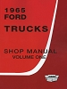 1965 Ford Truck Shop Manual (3 Volume Set)