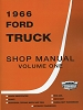 1966 Ford Truck Shop Manual (4 Volume Set)