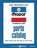 1967 Mopar Car Body & Chassis Parts Catalog