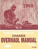 1968 Chevrolet Truck Chassis Overhaul Manual (Series 10-60)