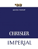 1968 Chrysler Imperial Service Manual