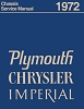 1972 Plymouth & Chrysler Chassis Shop Manual