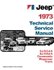 1973 Jeep Shop Manual