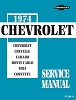 1974 Chevrolet Service Manual