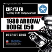 1980 Arrow / Dodge D50 - CD