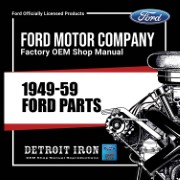 1949-59 Ford Cars PARTS - CD