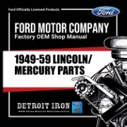 1949-59 Lincoln Mercury PARTS - CD