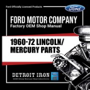 1960-72 Lincoln Mercury PARTS - CD
