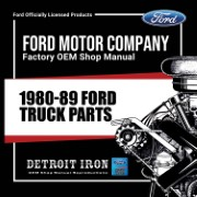 1980-89 Ford Truck PARTS - CD